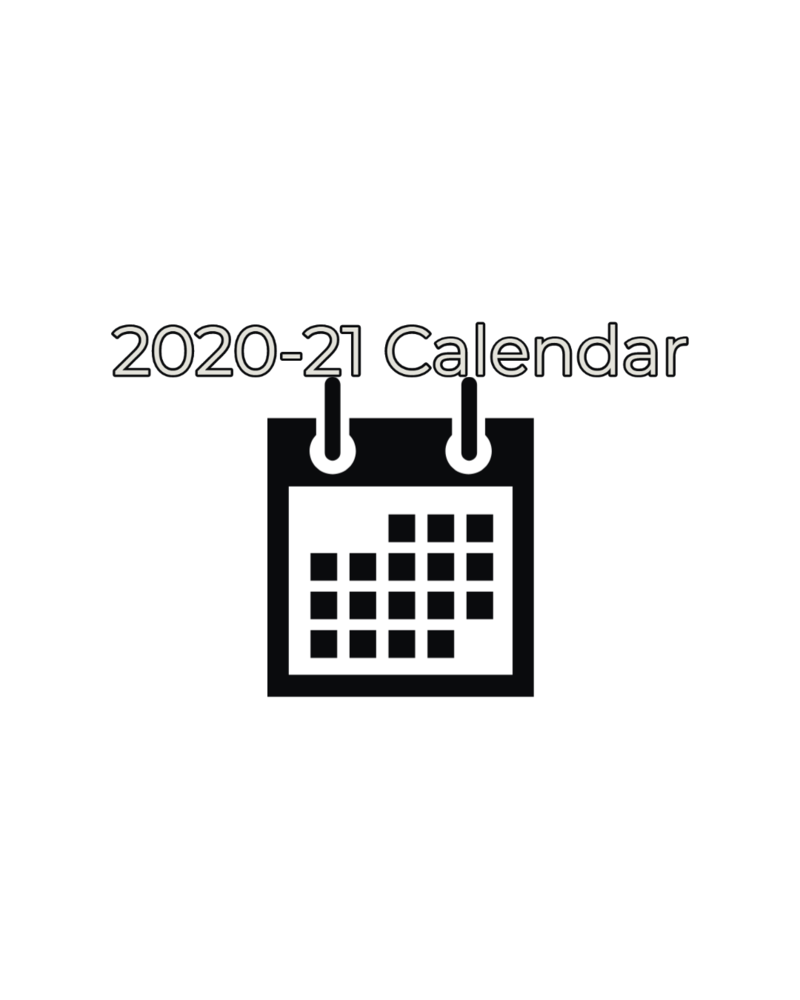 Board Approved District 2020-21 Calendar
